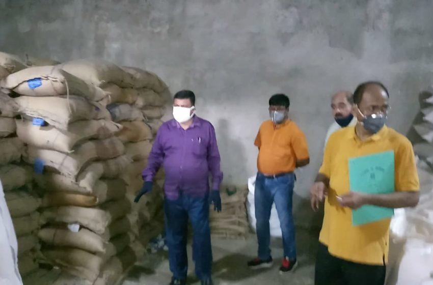 जमशेदपुर में सरकारी अनाज के गोरखधंधे का बड़ा रैकेट  झामुमो नेताओं की पहल पर जिला प्रशासन ने की छापामारी